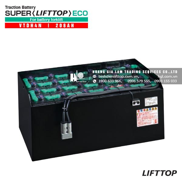Bình điện xe nâng LIFTTOP VTDH4M 208Ah