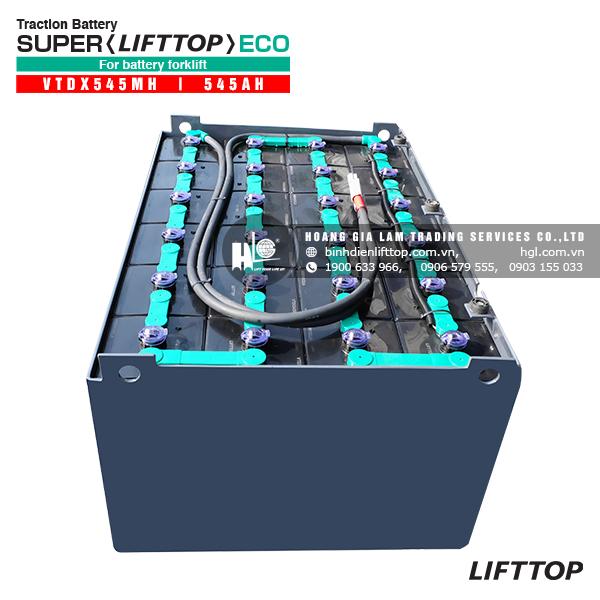 Bình điện xe nâng LIFTTOP VTDX545MH 545Ah