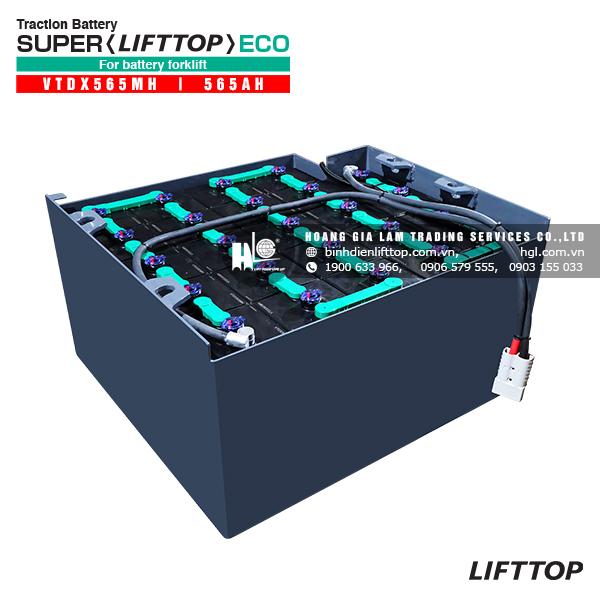 Bình điện xe nâng LIFTTOP VTDX565MH 565Ah