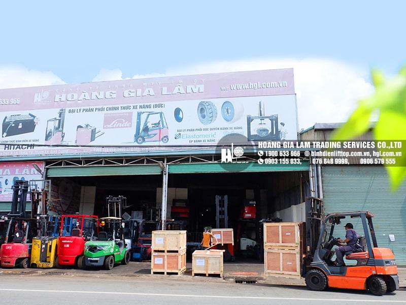 Hàng mới về 6.2021: Container bình điện xe nâng LIFTTOP (HITACHI) mới 100%